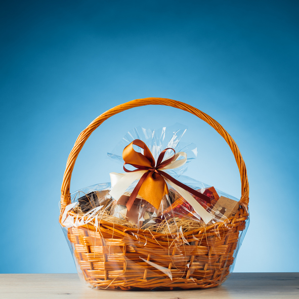 gift basket from Phoenix residential property management AZ