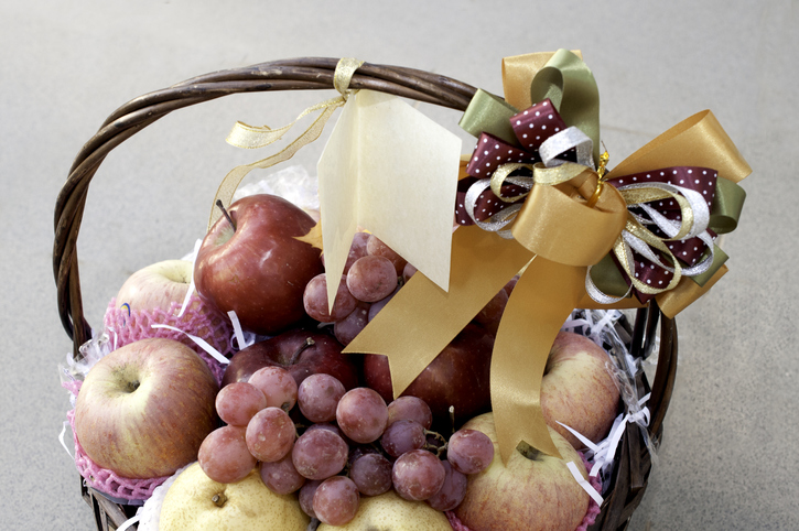 Welcoming basket from phoenix residential property managers AZ