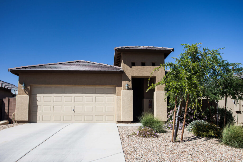 phoenix rental home with curb appeal