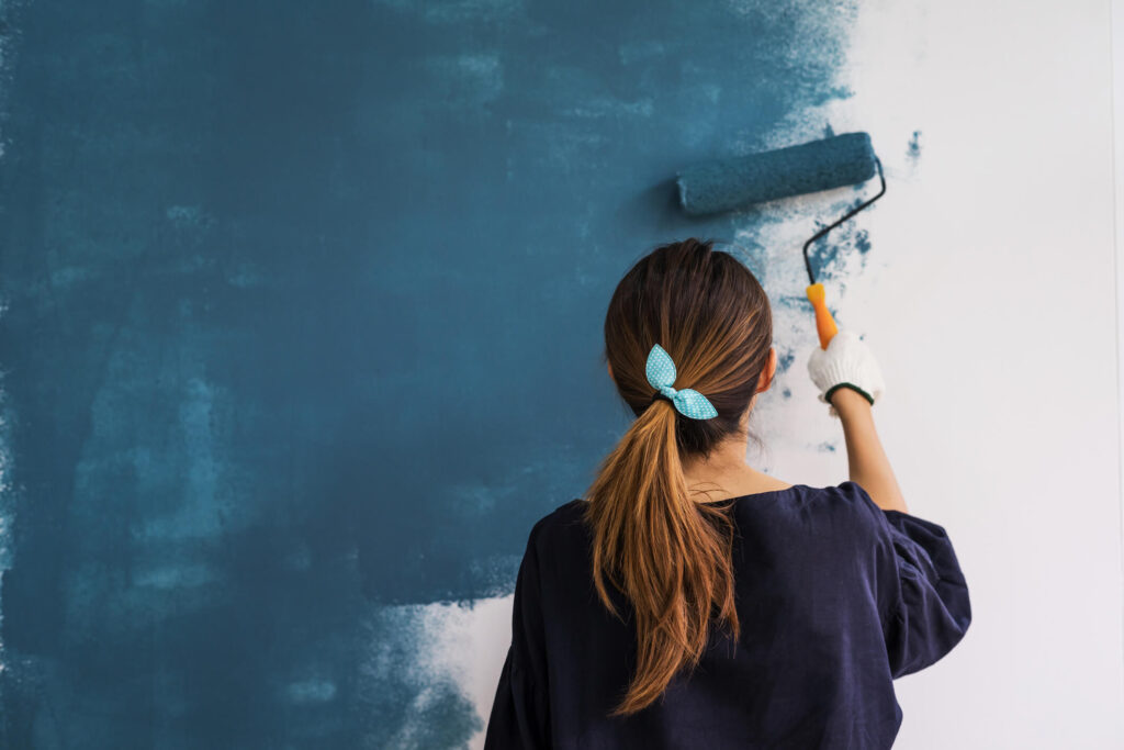tenant painting rental home